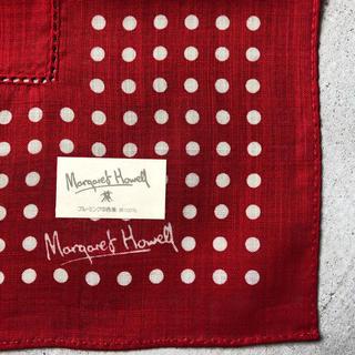 マーガレットハウエル(MARGARET HOWELL)のマーガレットハウエル ハンカチ♪(ハンカチ)