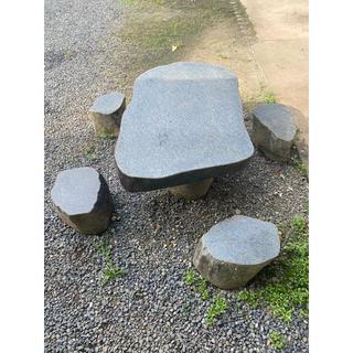 石 テーブル 庭園(その他)