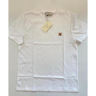 メゾンキツネ(MAISON KITSUNE')の【XSサイズ】新品 メゾンキツネ Maison Kitsune Tシャツ(Tシャツ(半袖/袖なし))