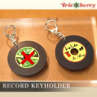 アイリーベリー(Irie Berry)のIRIE BERRY / レコード キーホルダー(キーホルダー)