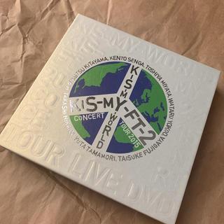 キスマイフットツー(Kis-My-Ft2)のKis-My-Ft2 KIS-MY-WORLD 初回盤(アイドル)