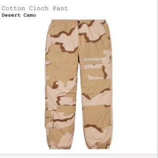 シュプリーム(Supreme)のSupreme Cotton Cinch Pant Desert Camo(ワークパンツ/カーゴパンツ)