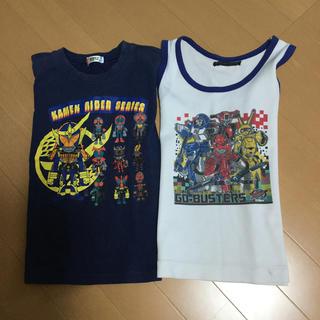 バンダイ(BANDAI)の戦隊キャラクターTシャツタンクトップセット(Tシャツ/カットソー)