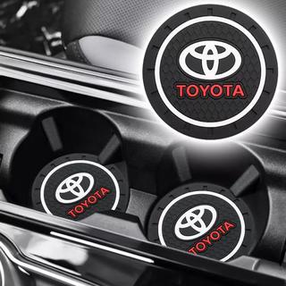 トヨタ(トヨタ)のトヨタ TOYOTA  コースター 2個セット 新品(車内アクセサリ)