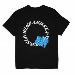 シー(SEA)のwind and sea × GOD SELECTION Tシャツ M(Tシャツ/カットソー(半袖/袖なし))