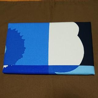 マリメッコ(marimekko)のミニアイロン台 青柄 ハンドメイド(雑貨)