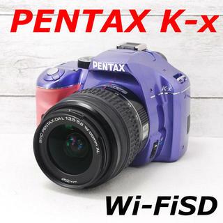 ペンタックス(PENTAX)の❤️希少オーダーカラー❤️スマホ転送❤️PENTAX K-x(デジタル一眼)