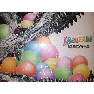 キスマイフットツー(Kis-My-Ft2)のKis-My-Ft2アルバム ISCREAM 4caps盤(ミュージック)