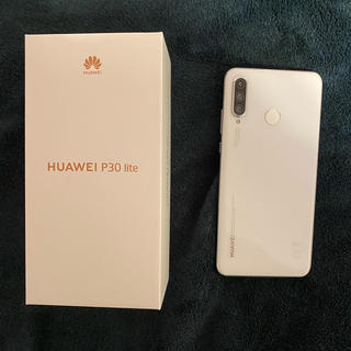 ANDROID - HUAWEI P30 lite パールホワイト 64 GB SIMフリー