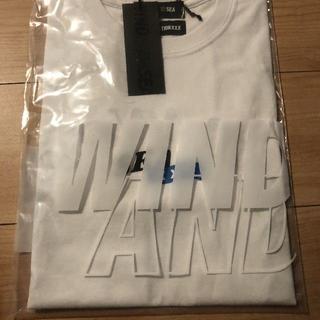 シー(SEA)のWIND AND SEA WDS ウィンダンシー XXX コラボ Tシャツ 白(Tシャツ/カットソー(半袖/袖なし))