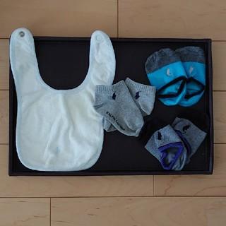 ラルフローレン(Ralph Lauren)のラルフローレンベビースタイ靴下4点セット男の子(ベビースタイ/よだれかけ)