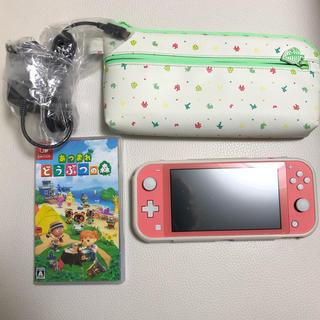 Nintendo Switch - Switch liteコーラル