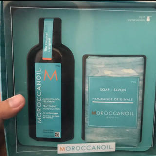 Moroccan oil - 新品)モロッカンオイル トリートメント+石鹸