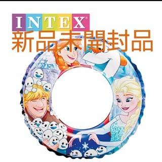 インデックス(INDEX)の明日発送新品 アナと雪の女王 スイムリング 浮き輪  51cm  INTEX社製(マリン/スイミング)