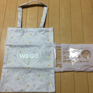 ウィゴー(WEGO)の新品 ガーリー総柄ビッグトート セブンティーン(トートバッグ)