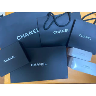 CHANEL 純正箱 ショップ袋 白純正箱