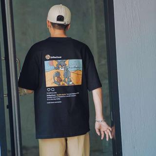 Supreme - ToAnJ 大人気 トムとジェリー バッグプリントTシャツ