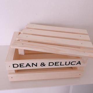 ディーンアンドデルーカ(DEAN & DELUCA)のディーンアンドデルーカ 木製 クレートボックス S(収納/キッチン雑貨)