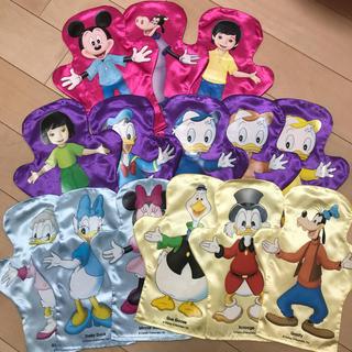 Disney - DWE ディズニー英語システム ハンドパペット 布製 ワールドオブイングリッシュ