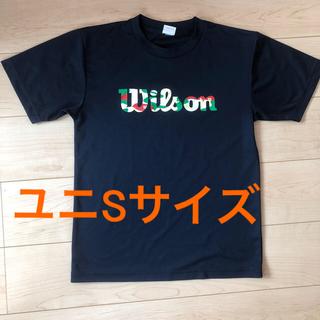 ウィルソン(wilson)のウィルソン Wilson バドミントン Tシャツ ユニSサイズ(バドミントン)