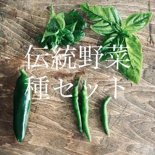 お好み4品目〜 ★伝統野菜★種セット(野菜)