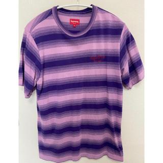 Supreme - SUPEEME シュプリーム 18F/W Week4ストライプTシャツ