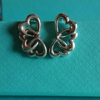Tiffany & Co. - ティファニー トリプルハートイヤリング
