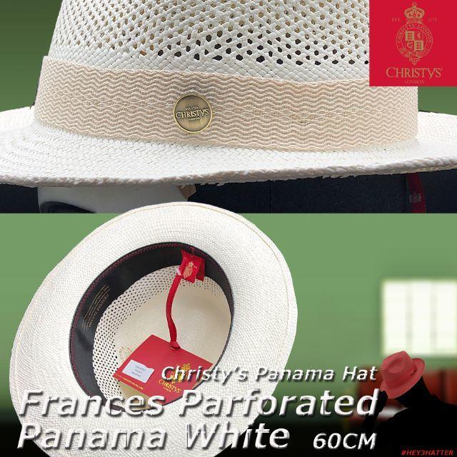 Borsalino(ボルサリーノ)のCHRISTYS'★クリスティーズ・フランシス・パーフォレイテッド・パナマ60 メンズの帽子(ハット)の商品写真