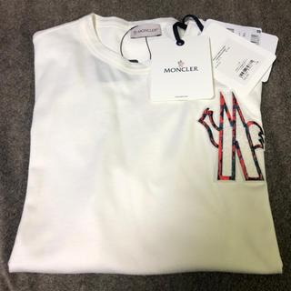 MONCLER - モンクレール Moncler 2020SS M字型ロゴワッペン長袖Tシャツ