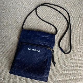バレンシアガ(Balenciaga)のバレンシアガ サコッシュ エクスプローラー ラムスキン ポーチ バッグ 美品(ショルダーバッグ)
