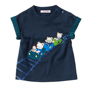 familiar - ファミリア 現行品Tシャツ100