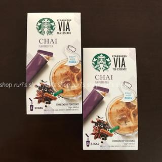 Starbucks Coffee - スターバックス ヴィア®ティーエッセンス チャイ2箱