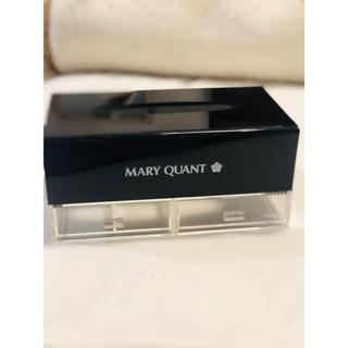 マリークワント(MARY QUANT)の【マリークワント】美品✨ティッシュケース 小物収納付き(ティッシュボックス)