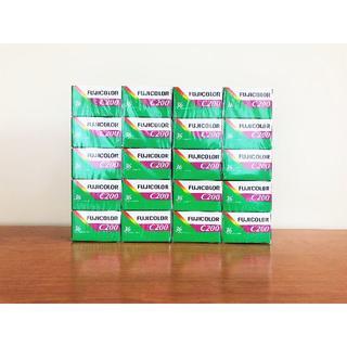 フジフイルム(富士フイルム)の期限切れ フジカラーフィルム c200 36枚撮り 20本(フィルムカメラ)
