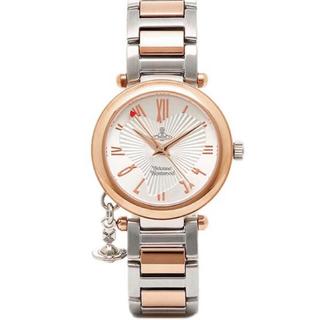 Vivienne Westwood - ヴィヴィアンウエストウッド 腕時計 VV006RSSL シルバーピンクゴールド
