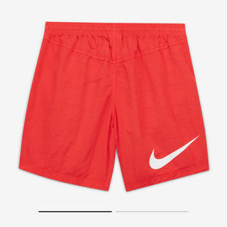 ナイキ(NIKE)のSTUSSY × NIKE WATER SHORT RED 赤 Sサイズ(ショートパンツ)