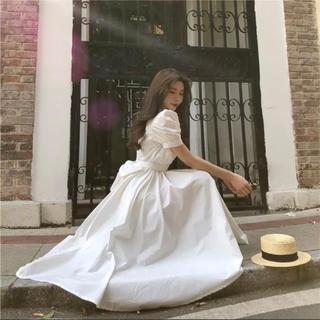dholic - 当日発送可能❤韓国ファッションホワイトフィッシュテールワンピース