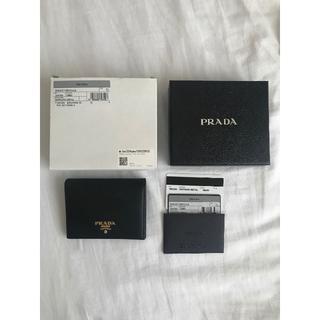 PRADA - PRADA 2つ折り財布
