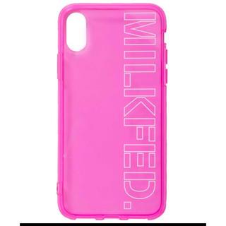 ミルクフェド(MILKFED.)のMILKFED. ミルクフェド クリア iPhone X スマホ ケース 新品(iPhoneケース)