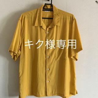 ジーユー(GU)のGU  オープンカラーシャツ M(シャツ)