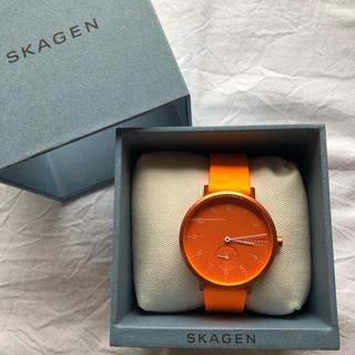 SKAGEN - 新品未使用 SKAGEN  腕時計 AAREN SKW2821 オレンジ