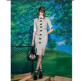 パメオポーズ(PAMEO POSE)の[新品]PAMEO POSE ワンピース Ruban Garden Dress (ひざ丈ワンピース)