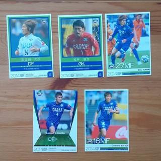 2014徳島ヴォルティス選手カード(応援グッズ)