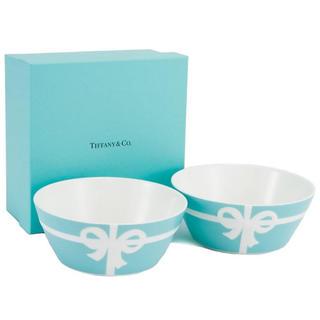 Tiffany & Co. - ティファニー ティファニーリボン ペアボウル
