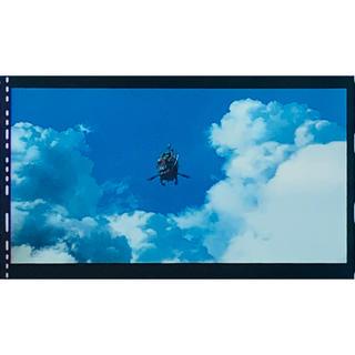 ジブリ(ジブリ)のハウルの動く城 ラストシーン フィルムブックマーカー フィルム(キャラクターグッズ)