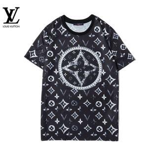 LOUIS VUITTON - [2枚8000円送料込み]LV Tシャツ 半袖 男女兼用 01