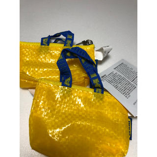 イケア(IKEA)のIKEA キーホルダー 原宿 イエロー(収納/キッチン雑貨)
