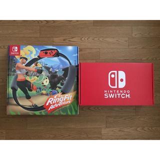 Nintendo Switch - 【未使用新品】Switch 本体(新型)&リングフィットアドベンチャー セット