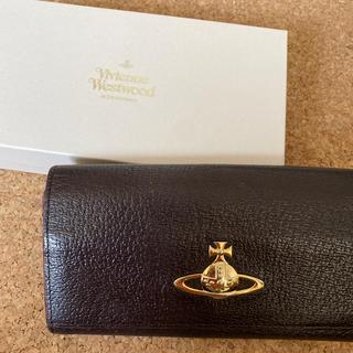 ヴィヴィアンウエストウッド(Vivienne Westwood)のヴィヴィアンウエストウッド 長財布 ダークブラウン がま口財布(長財布)