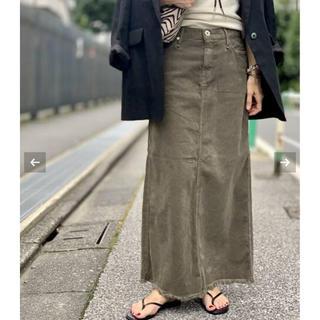 L'Appartement DEUXIEME CLASSE - アパルトモン UPPER HIGHTS/Corduroy Long スカート